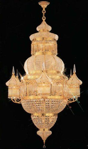 Moroccan Mosque Crystal Chandelier Chandeliers H62 X W40