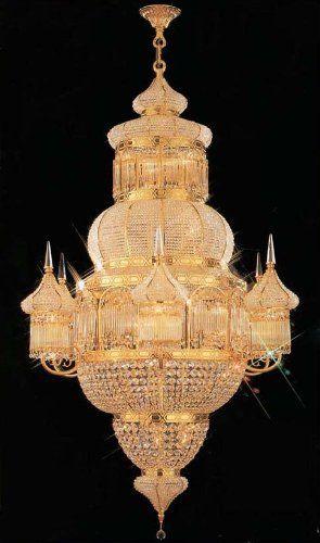 Moroccan mosque crystal chandelier chandeliers h62 x w40 amazon the gallery moroccan mosque crystal chandelier chandeliers x aloadofball Image collections