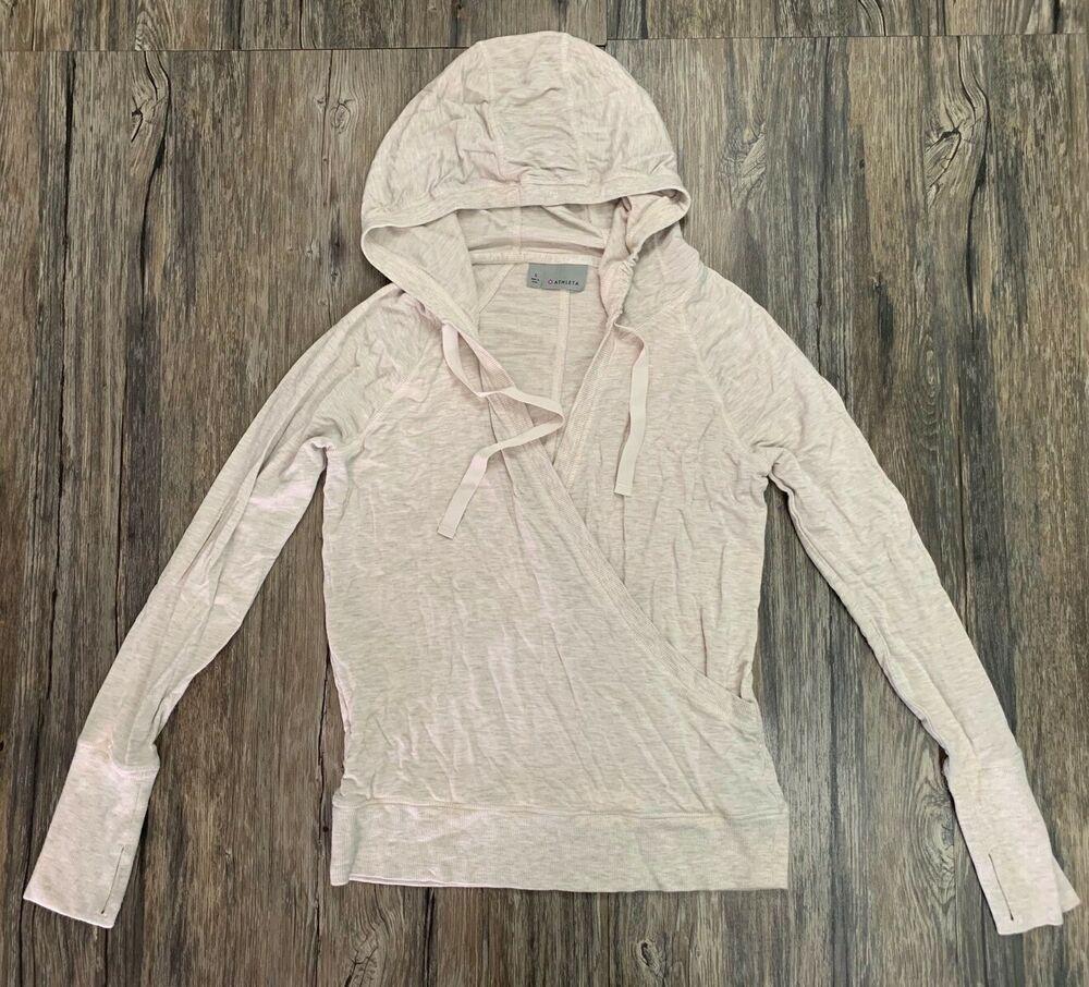 Athleta Pullover Hoodie Sweatshirt Oatmeal Beige Women S Sz M 30 Ebay Sweatshirts Hoodie Sportswear Women Sweatshirts [ 906 x 1000 Pixel ]
