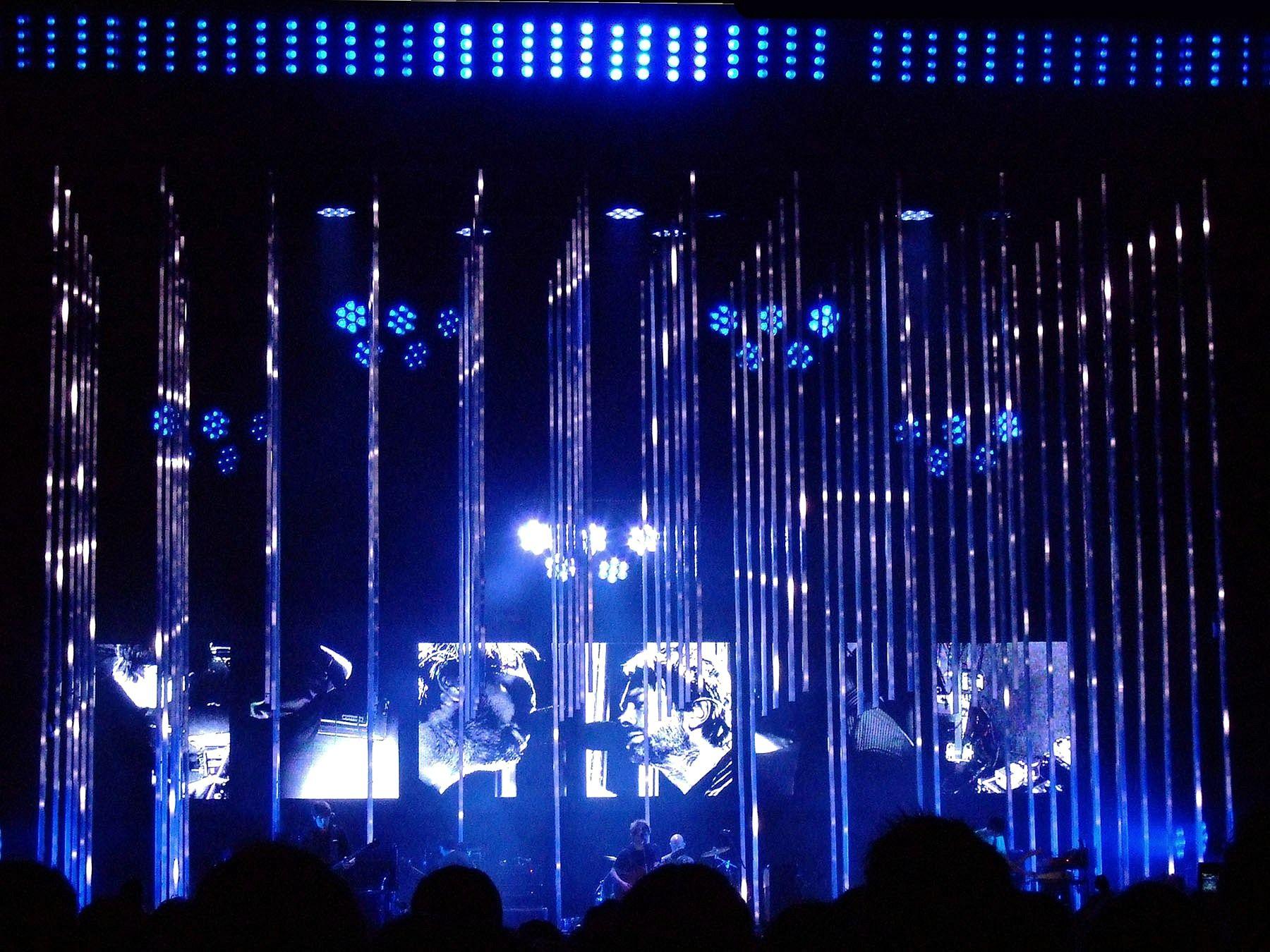 Radiohead In Rainbows Tour Stage