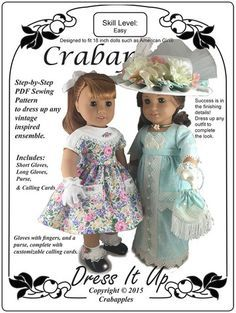 """Dress it Up 18"""" Doll Clothes"""