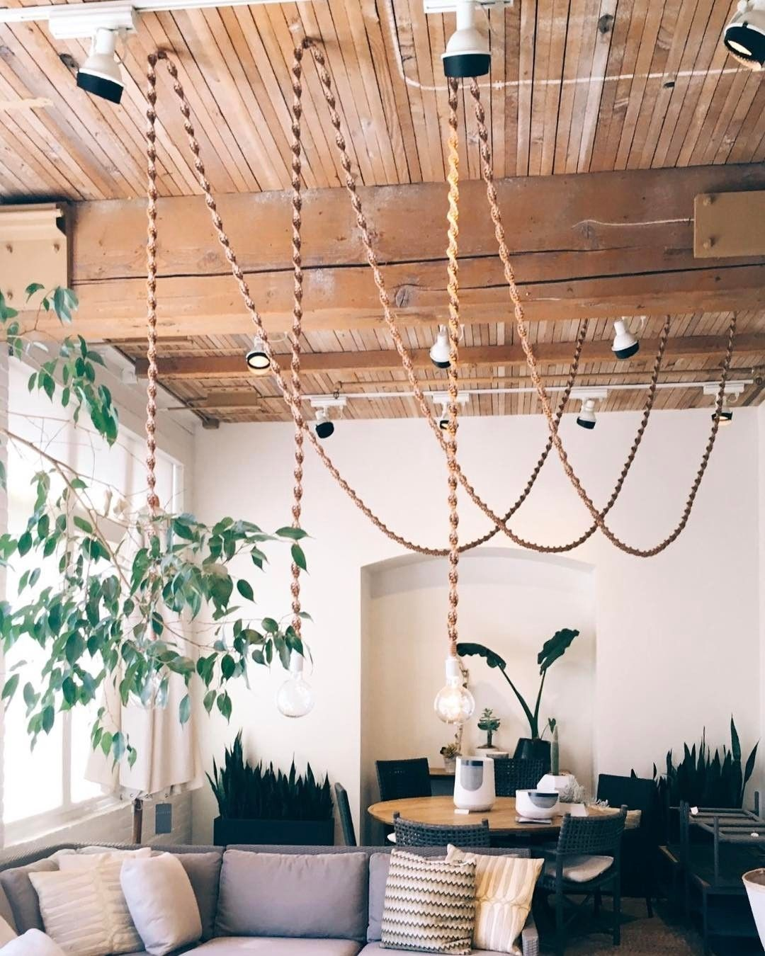 Macrame light cord cover //via Macrame Makers (@macramemakers) on ...