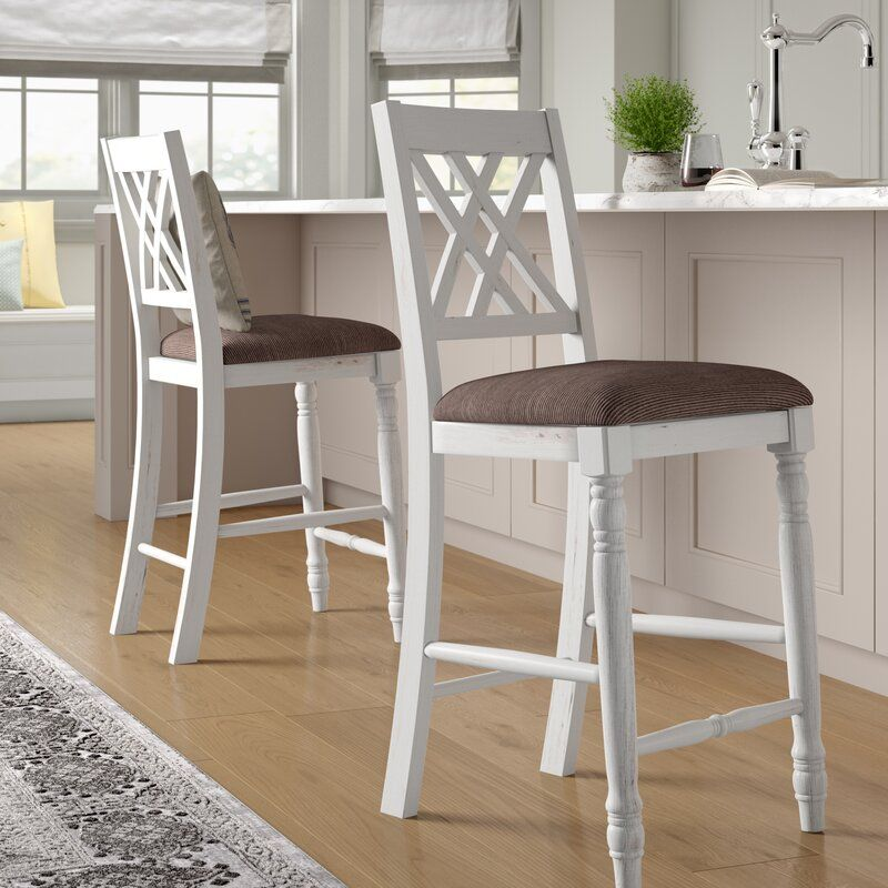 "Lia 25.5"" Bar Stool Bar stools, Counter stools, French"