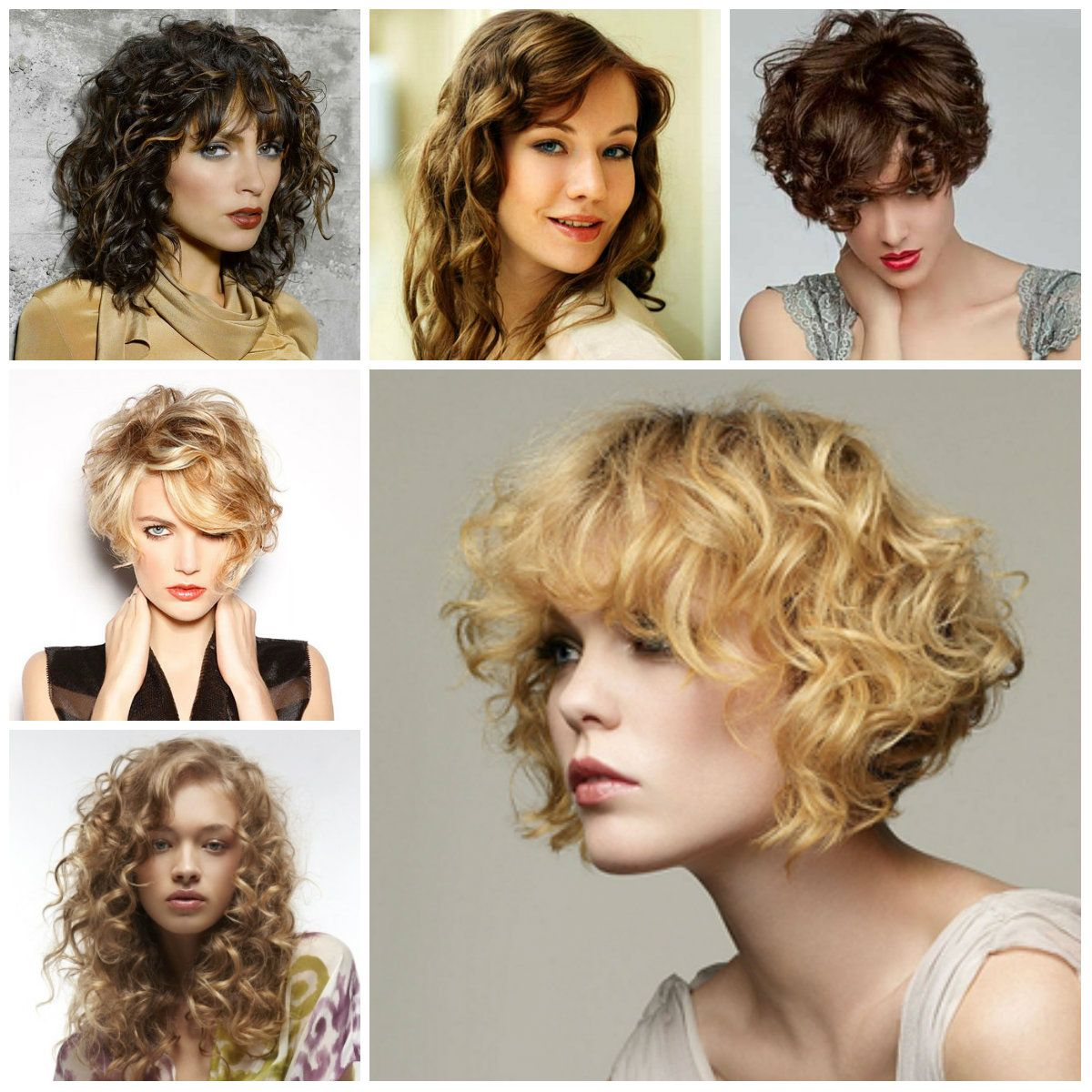 Image Result For Medium Curly Haircuts 2017 Hairskin Pinterest