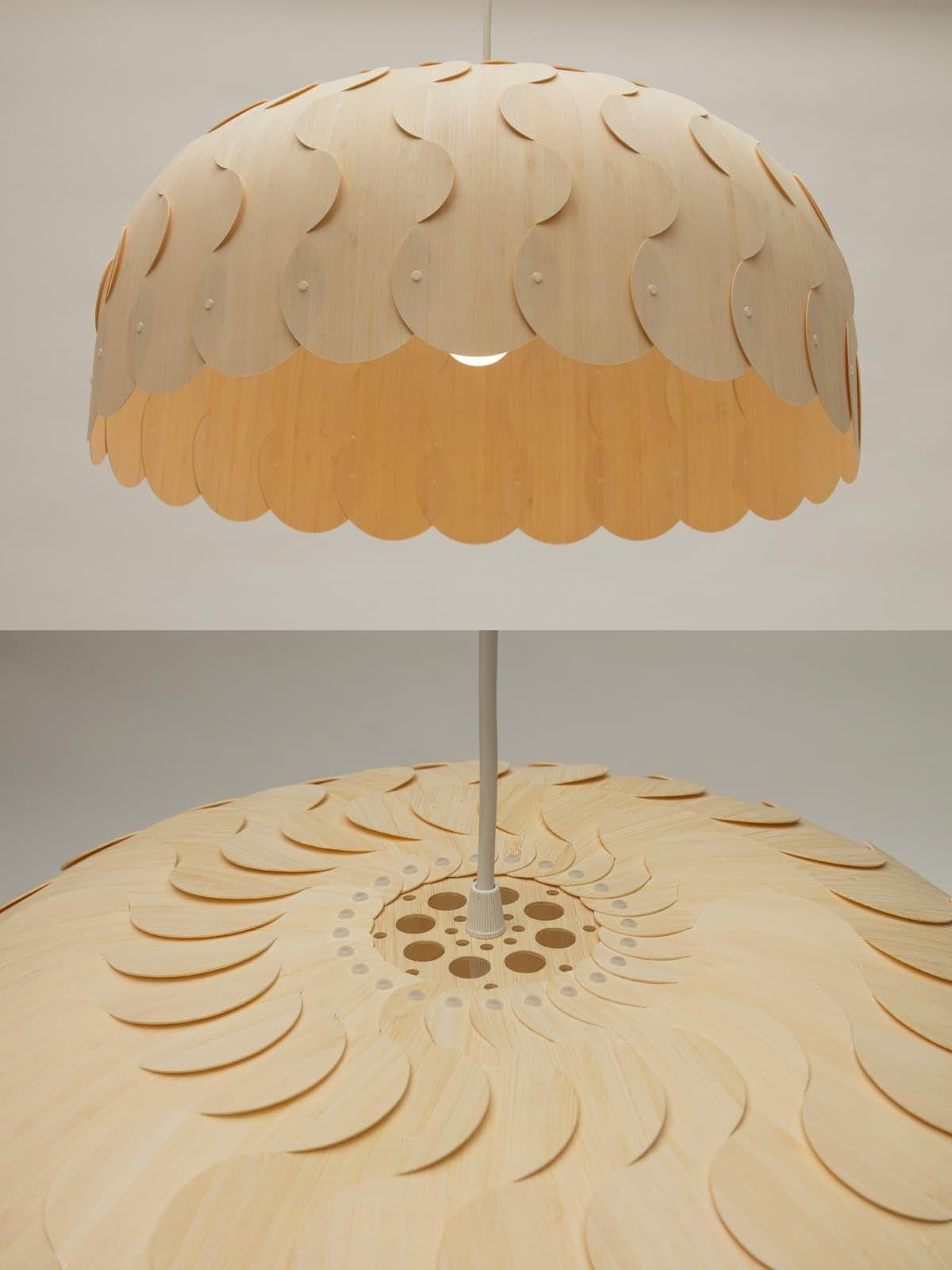 Beau Large Origami Lampa Osveshenie Lampa