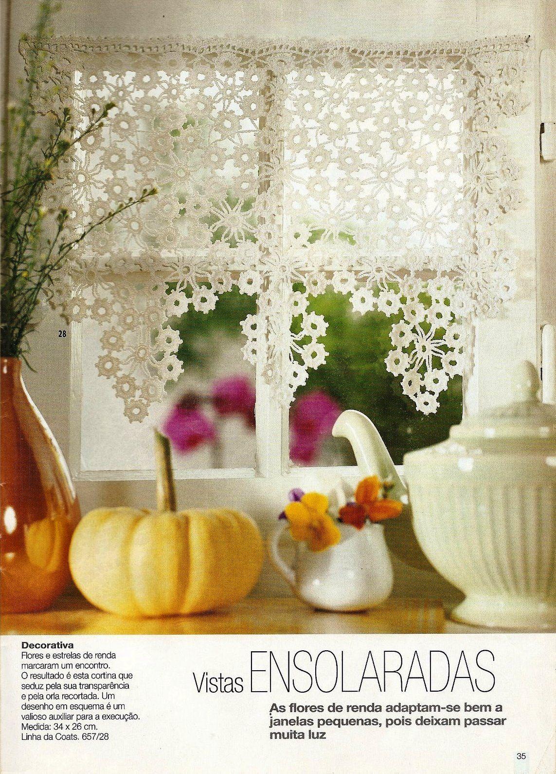 burda special rendas de croche e657 h keln zazdrostki h keln gardinen. Black Bedroom Furniture Sets. Home Design Ideas