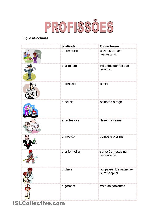 Worksheets Portuguese Worksheets aprender portuguesa pinterest portuguese
