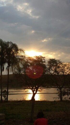 #horizonte #por #do #sol