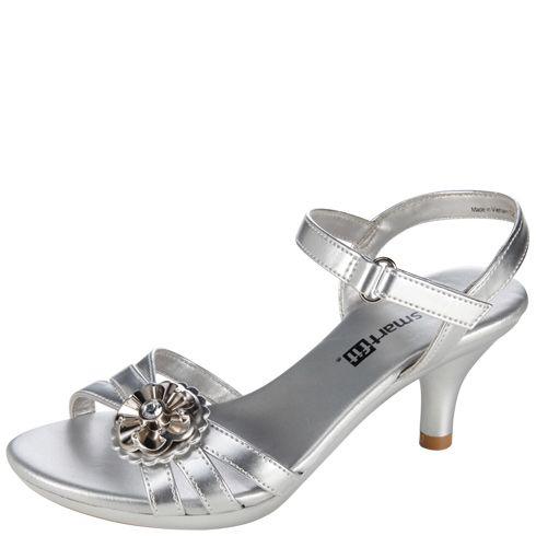 Girls Smartfit Girls Flower Heel Sandal Payless Shoes