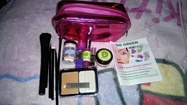 Organic Makeup For Kids Amazing GoGreen Deluxe Makeup Kit Kids Girls Safe Real Mineral