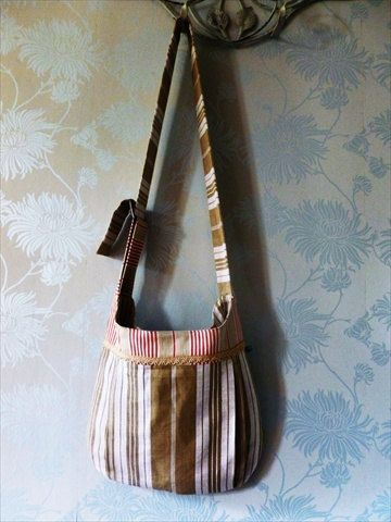 A stunning shoulder bag, funky, retro and unique!
