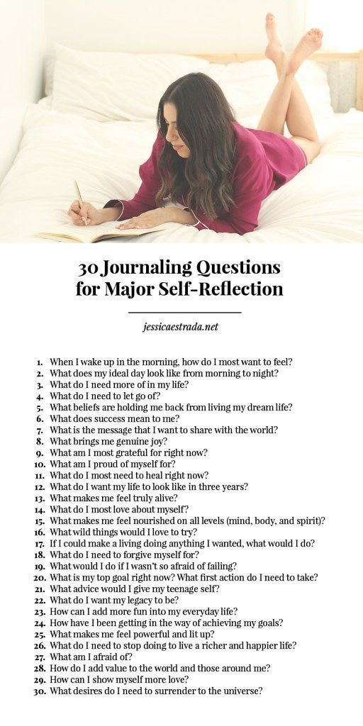 Photo of How To Journal + 30 Journaling Questions For Major Self-Reflection — Jessica Estrada