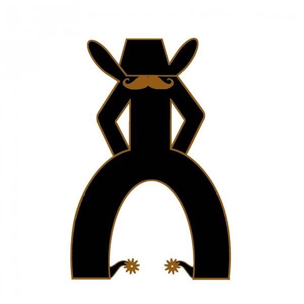 Hooey Punchy Sticker 12 95 Cowboy Stuff Stickers