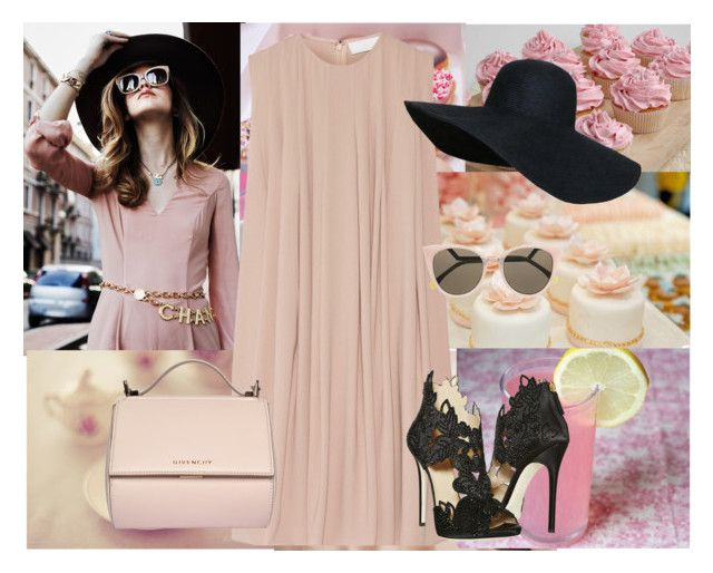 """""""~the diva~"""" by dimiana ❤ liked on Polyvore featuring Fendi, La Perla and Givenchy"""