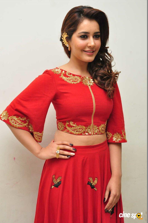 81a62a74c9d25 Heroine Rashi Khanna photoshoot (13) Orange Tops