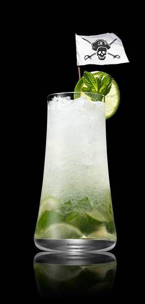 Shaken Mojito Woahito Captain Morgan White Rum Spiced Rum Cocktails Mojito Drink Rum Drinks Recipes