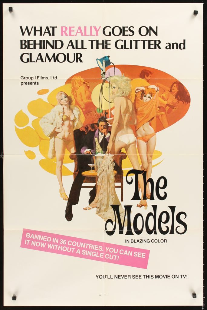 The Models Man From S E X One Sheet Movie Poster Art By Robert