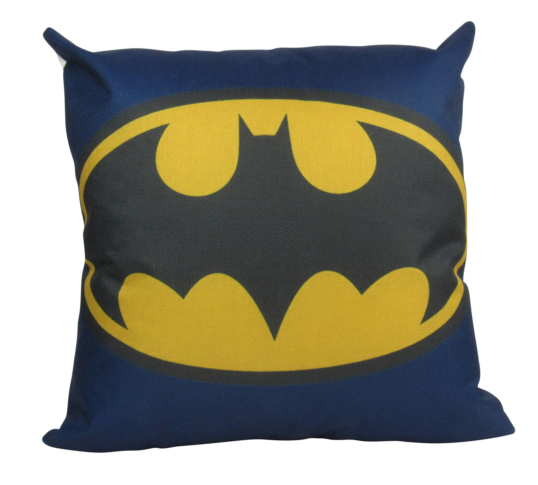 Yellow Batman cushion pillow cover