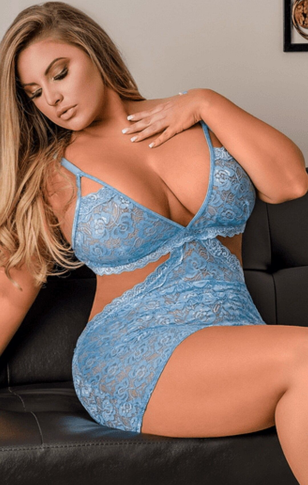 79475f5d3 Ashley Alexiss Plus Size Lingerie Models, Plunging Neckline, Sexy Dresses,  Formal Dresses,