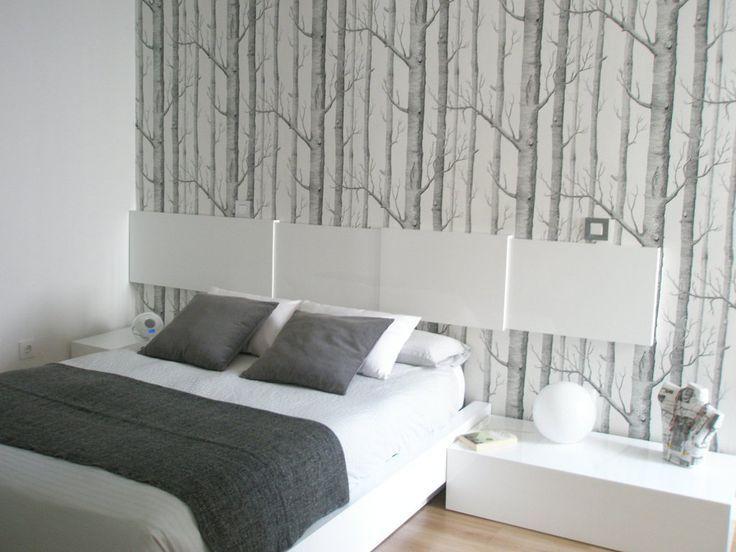 Papeles pintados ramas bosque vintage cole son - Papeles pintados para muebles ...