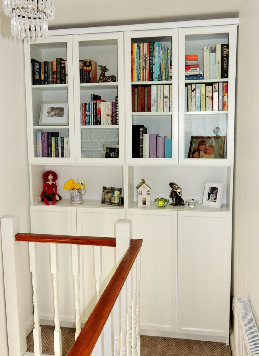 How To Make The Almost Extinct 97x40cm Oxberg Glass Doors Ikea Hackers Remodel Bedroom Bookcase With Glass Doors Small Bedroom Remodel