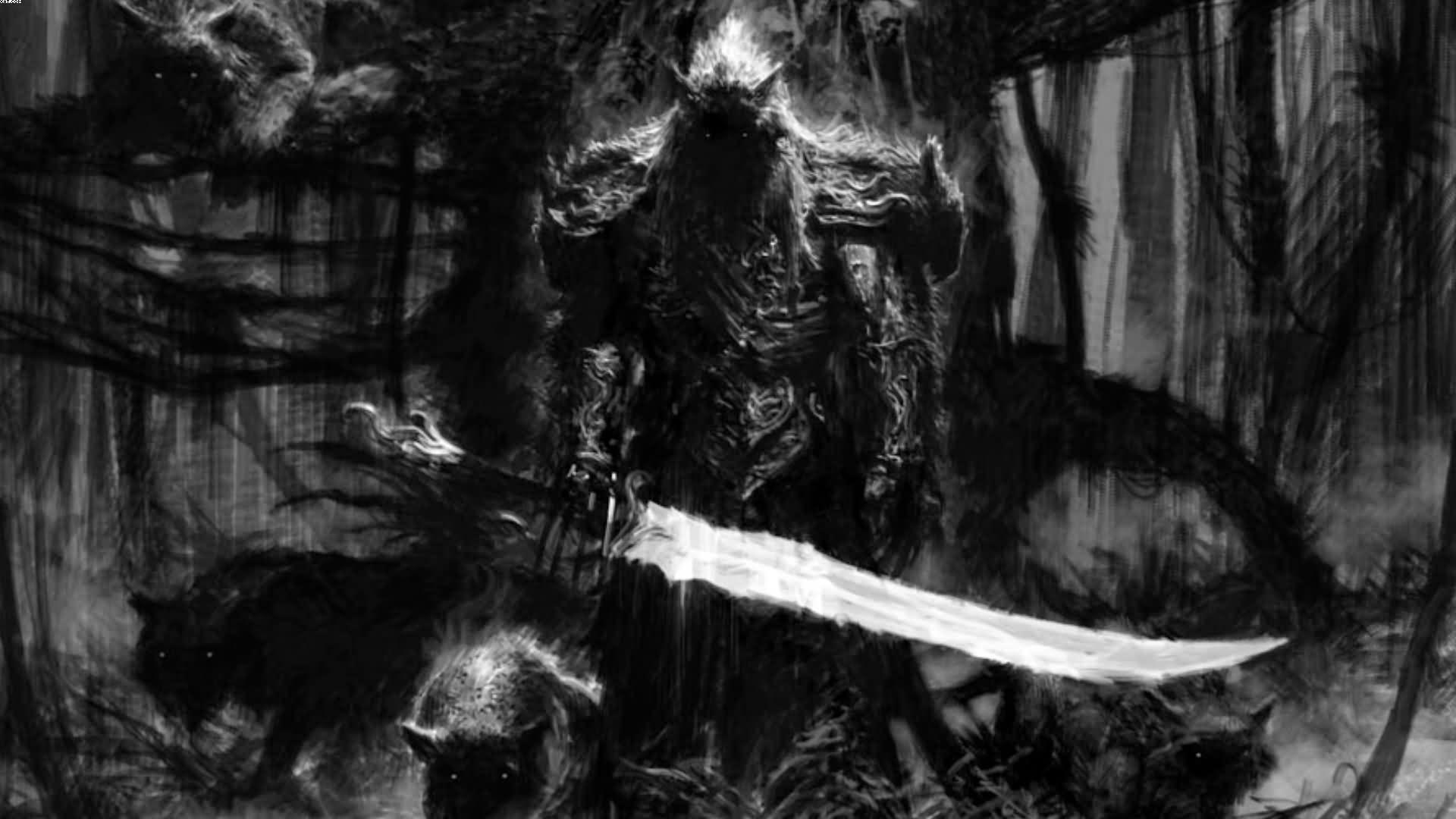 Dark Warrior Tattoo Picture