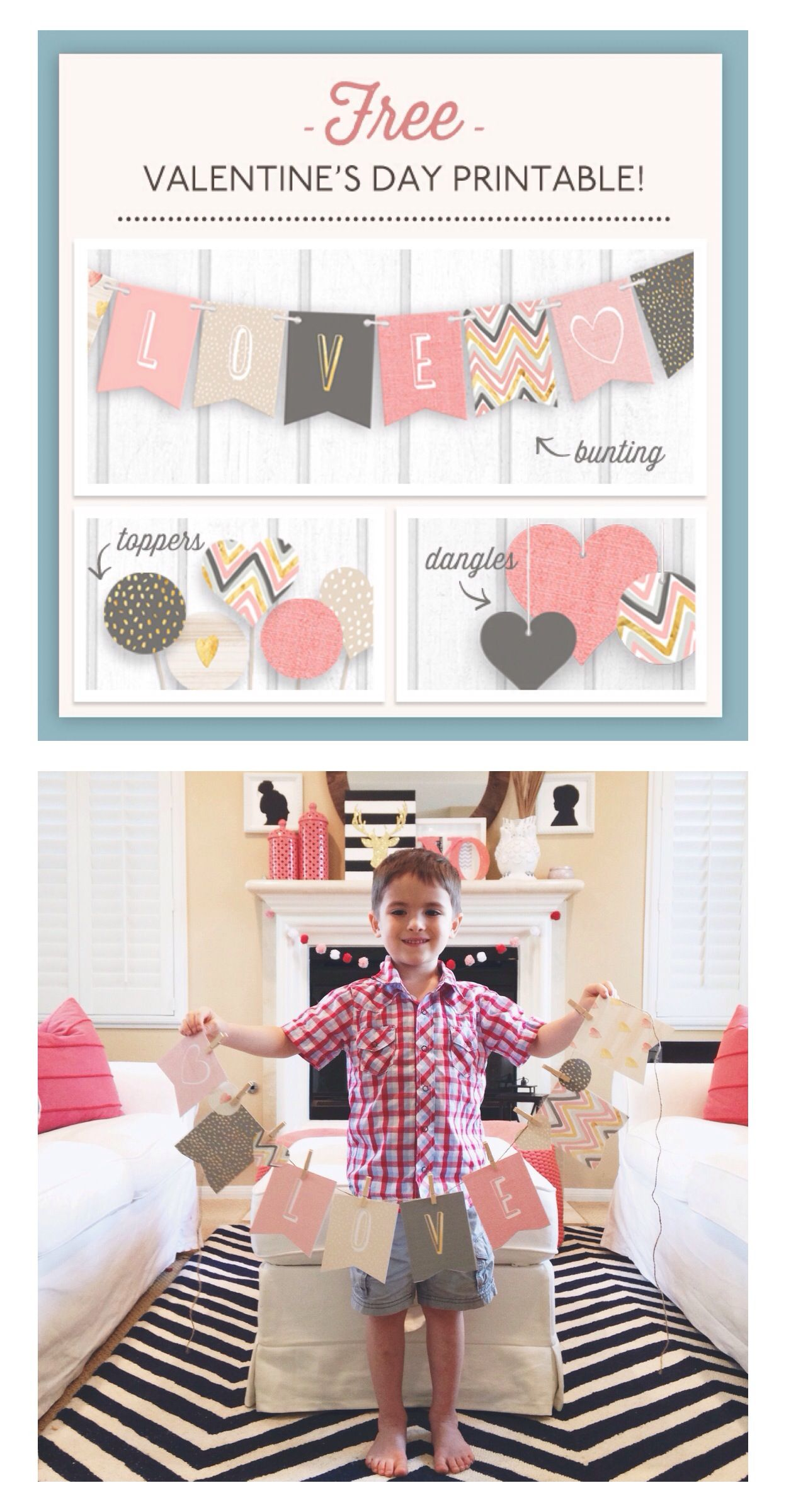 Free printable valentines day bannner from style space stuff free printable valentines day bannner from style space stuff blog young tree greetings m4hsunfo