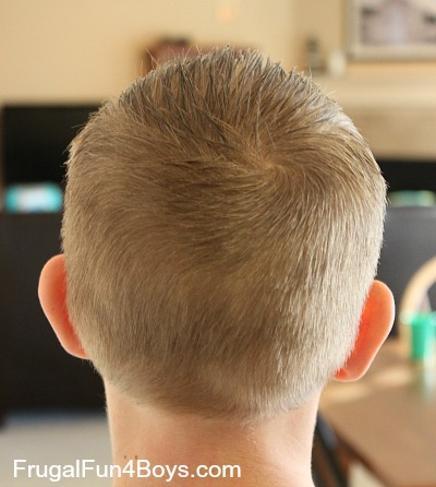 how to do a boy's haircut with clippers  frugal fun for