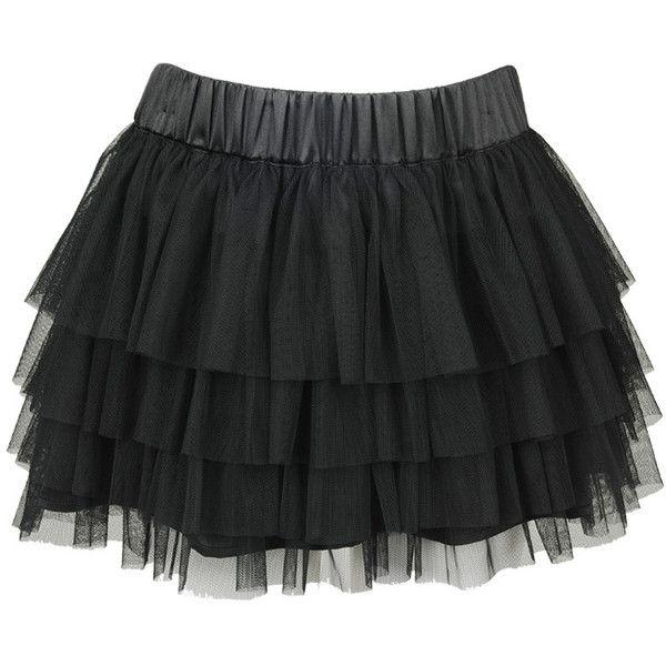 Tiered Mesh Skirt ($18) ❤ liked on Polyvore featuring skirts, mini skirts, bottoms, saias, black, women, forever 21, textured skirt, forever 21 skirts and forever 21 mini skirt