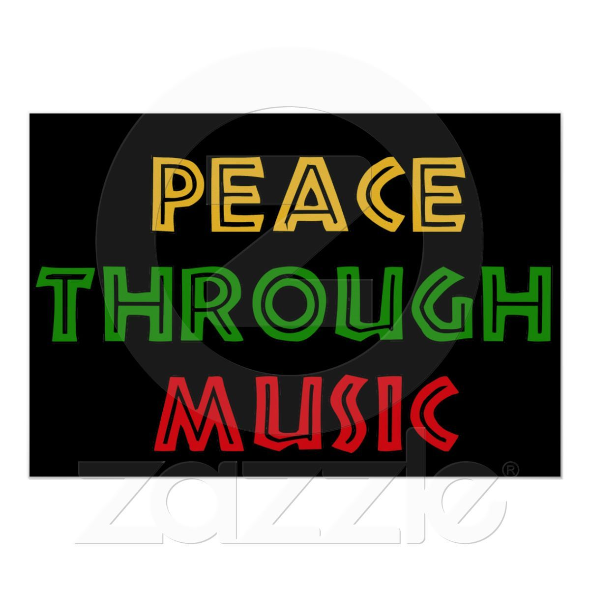 Love Music Quotes Peace Through Music Poster  Music Posters And Peace