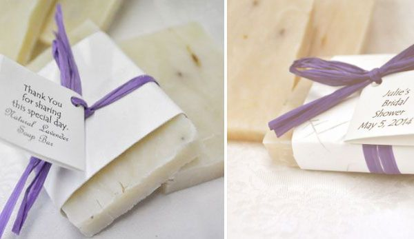 Lavender soap bar wedding favours Favors Wedding and Homemade
