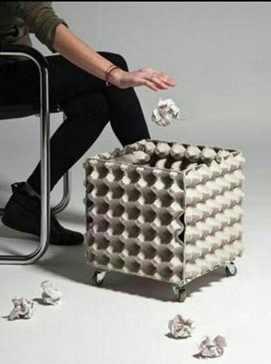 id e facile pratique pinterest recyclage bricolage et boite a oeuf. Black Bedroom Furniture Sets. Home Design Ideas