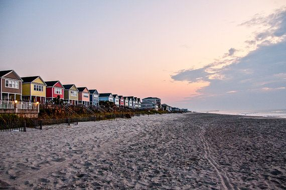 Surfside Beach Sunrise Photography By Redkphotography 35 00