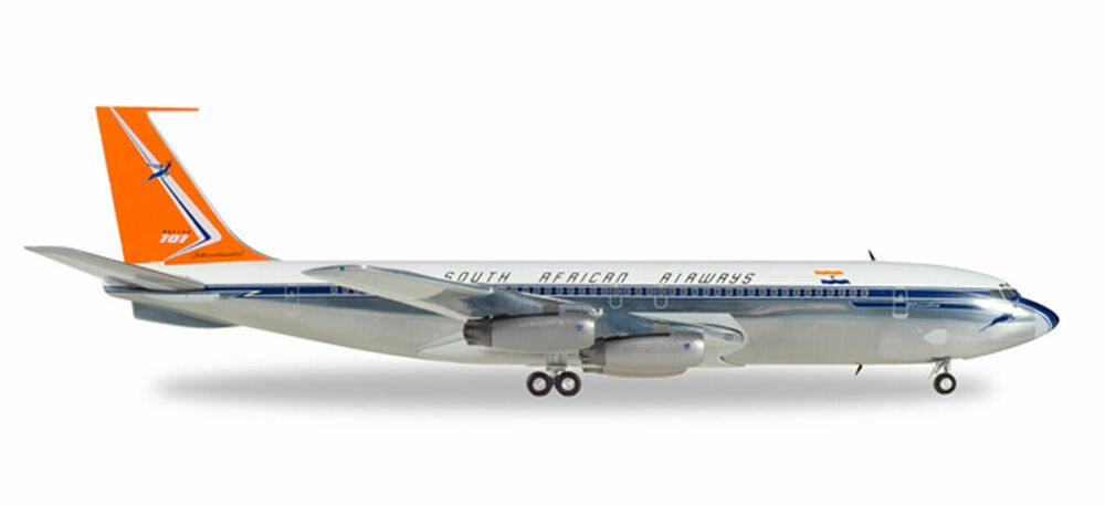 Boeing 707 South African Airways Herpa Collectors Model Scale 1:200 558693 AG