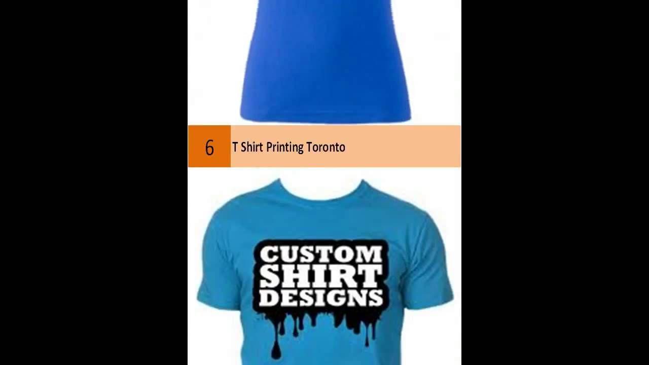 Custom T Shirt Printing Printing Services Pinterest