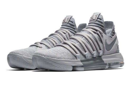 Official Images: Nike KD 10 Wolf Grey