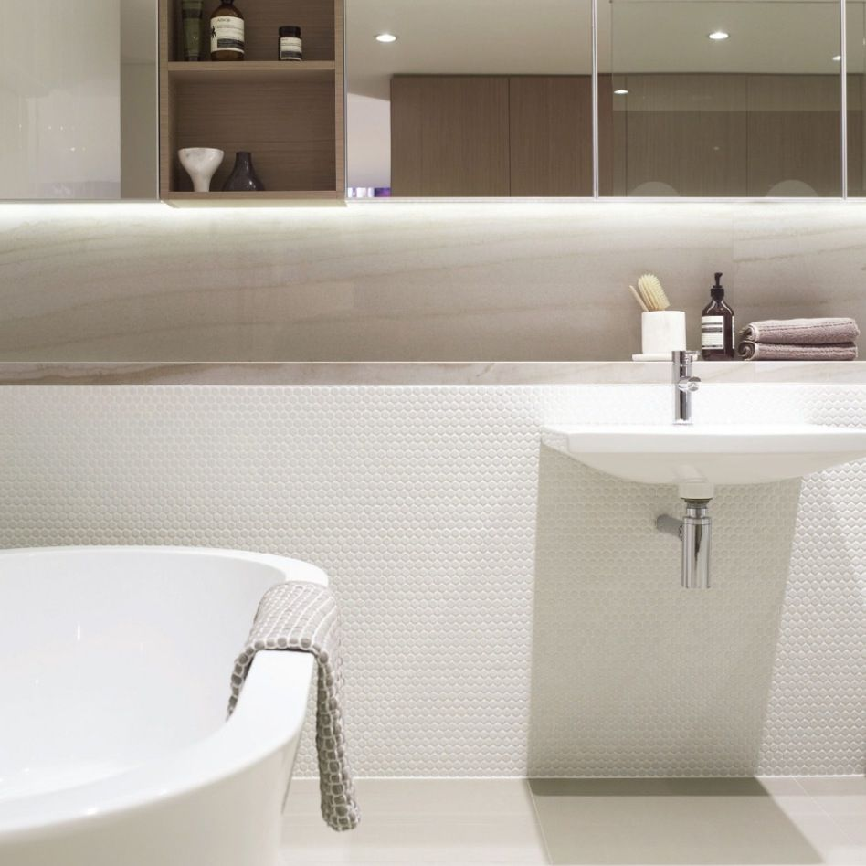 SJB INTERIORS . Sydney . Divercity Apartments . Bathroom Interior ...
