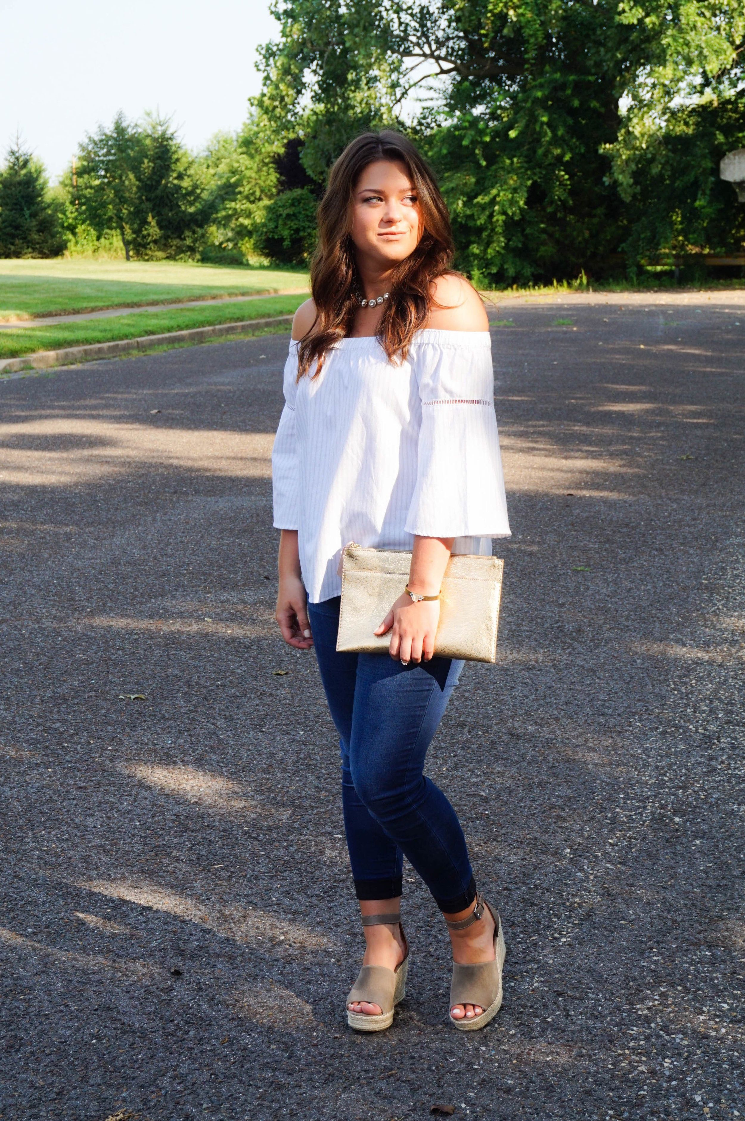 c4312e5c34ef One trend that I absolutely cannot wait to bring into the new season is off- the-shoulder tops... for real