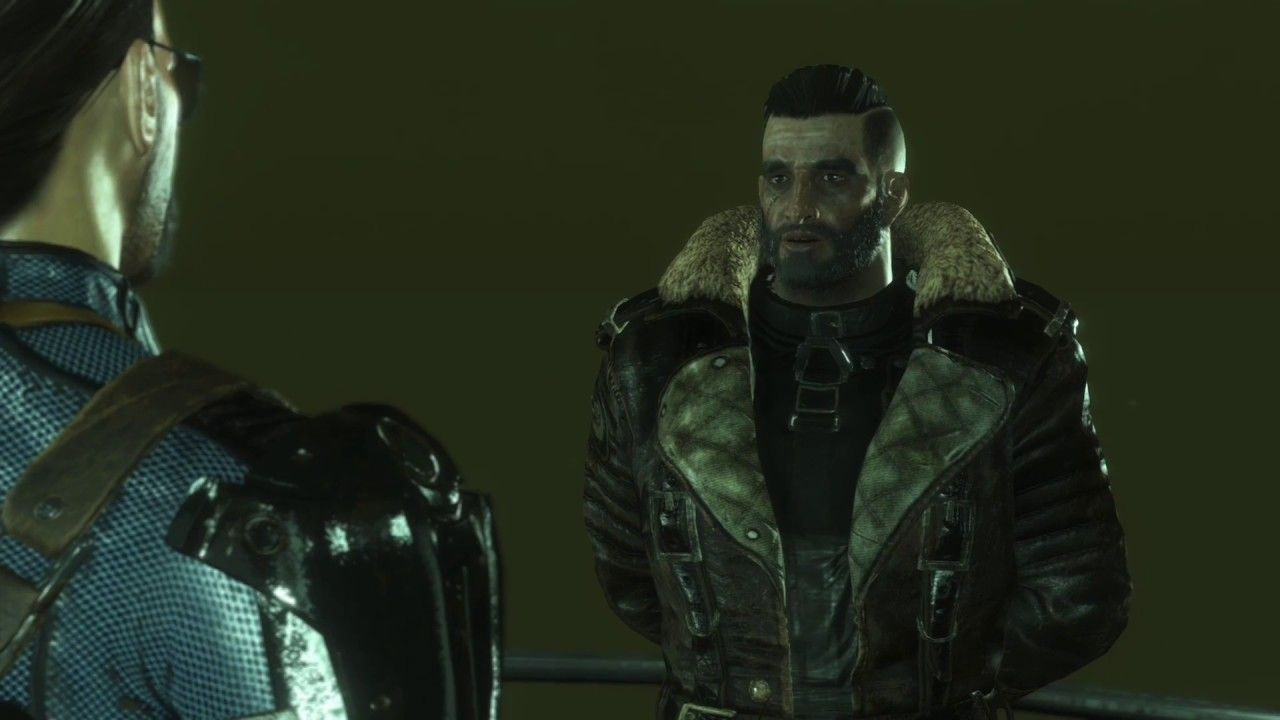 A friendly chat with elder maxson fallout4 gaming