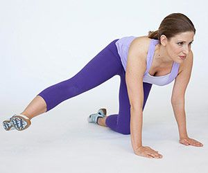 Bridal Boot Camp Workout - Table Pose Hip Raise  - Hips - Butt - Exercise Workout