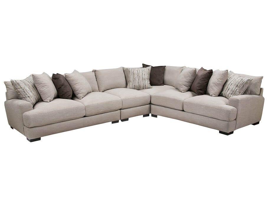 Slumberland wake collection 4pc sectional dream home - Slumberland living room furniture ...
