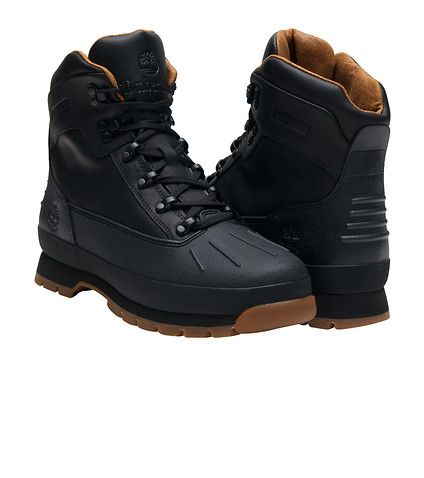 58f4f360035 TIMBERLAND MENS EURO HIKER BOOT Black | Fall/Winter 2016 Footwear in ...