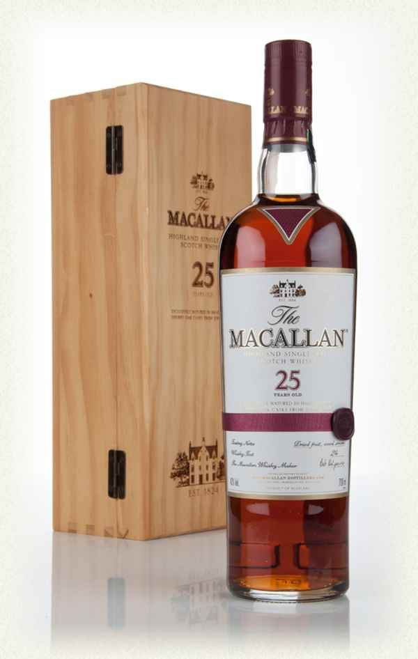 b224aa44287e The Macallan 25 Year Old Sherry Oak (Old Bottling)