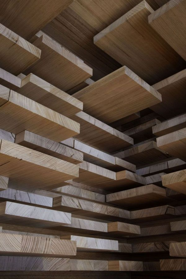 Stacking idea for your wall   Retail Aesop Store