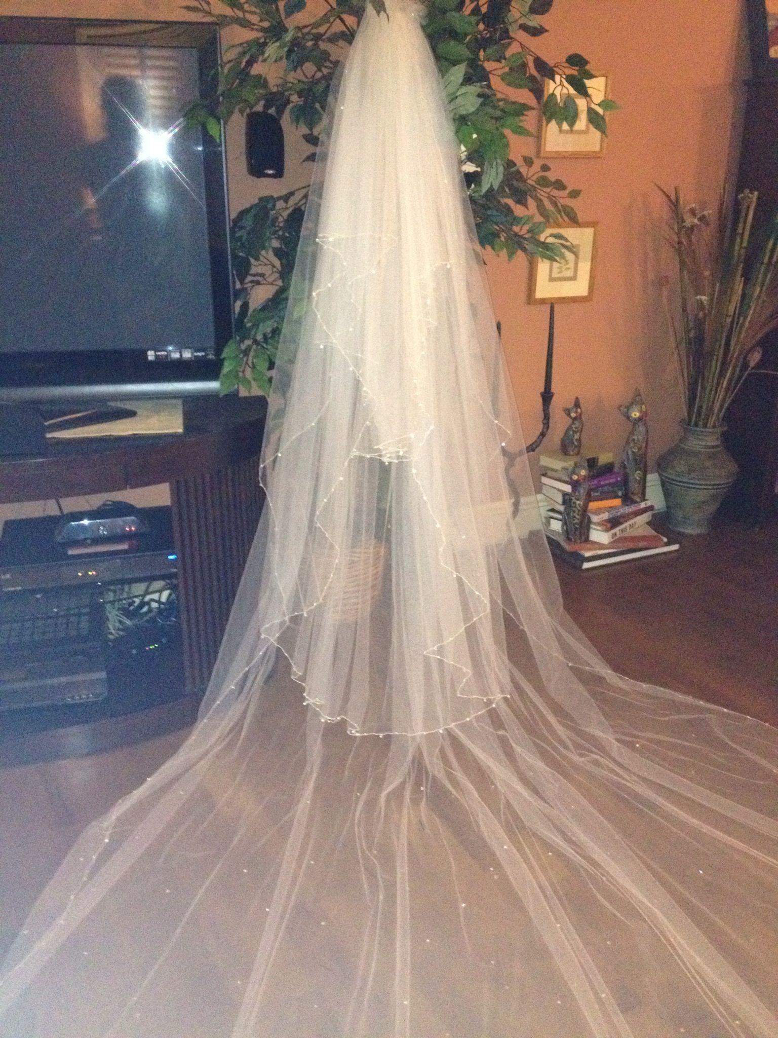 3 tier diy veil