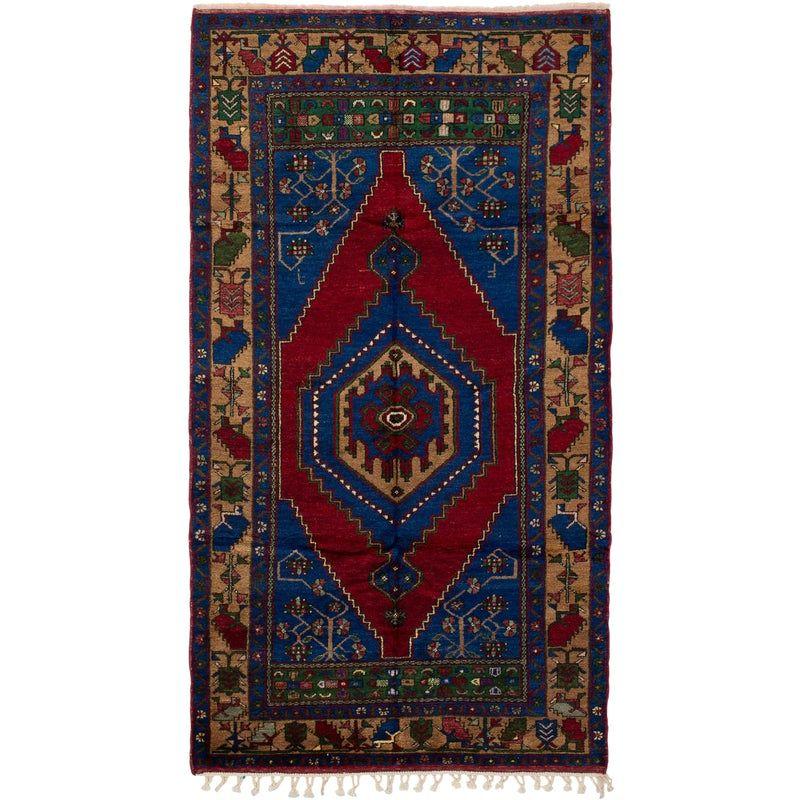 Vintage Turkish Anatolian Rug 5 1 X9 5 Rugs Colorful Rugs Wool Rug