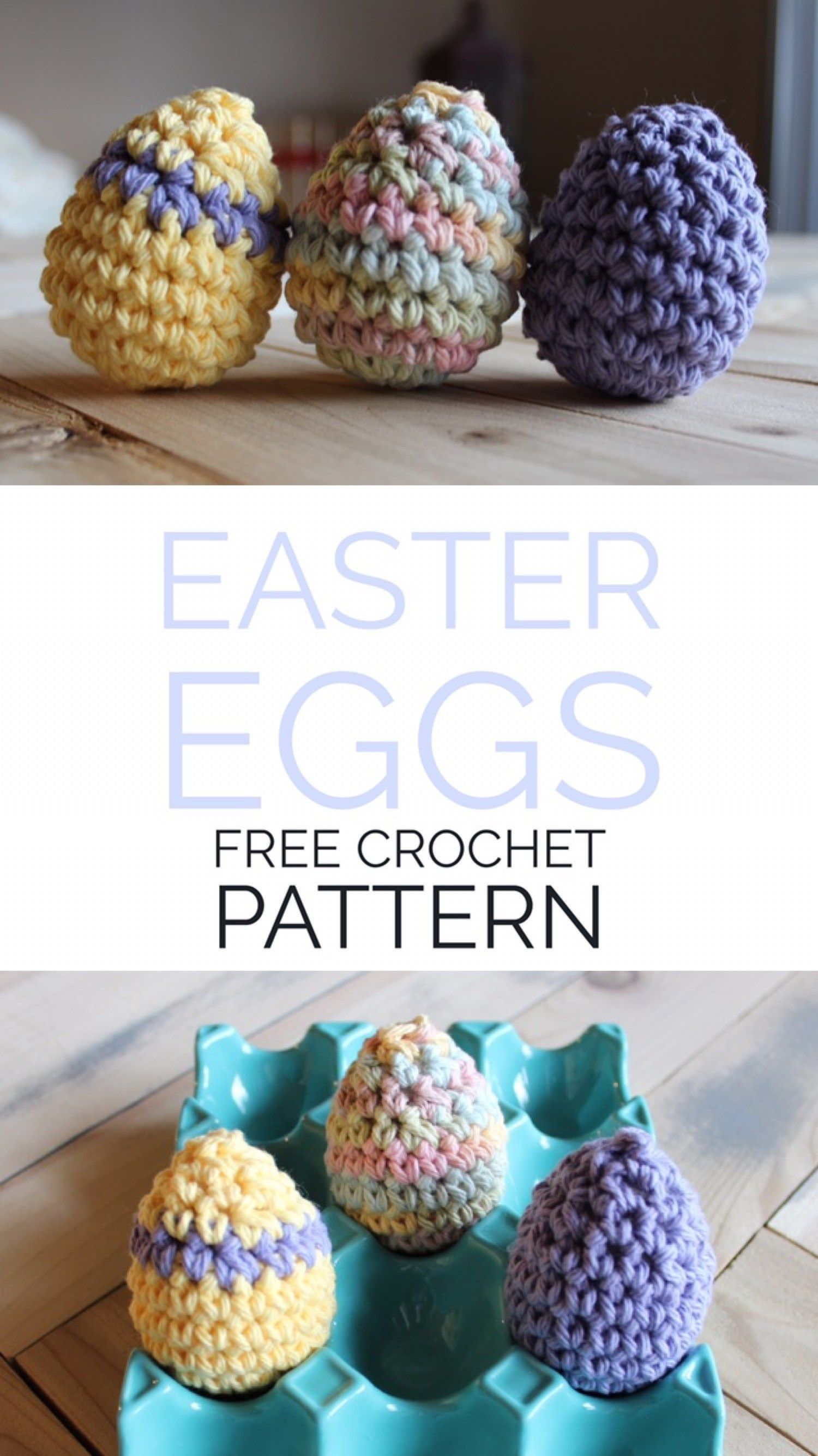 Easter Egg Pinterest Photo | Spring Crochet | Pinterest | Tejido de ...