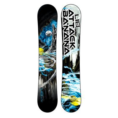 Lib Tech Attack Banana Ec2btx Snowboard 2015 Freestyle Snowboard Snowboard Lib Tech