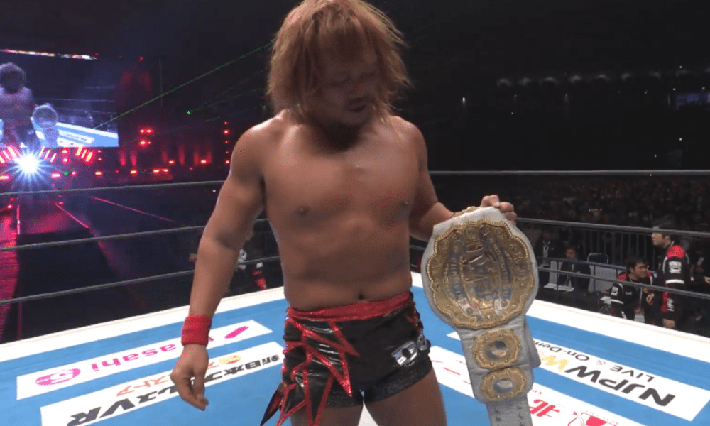 Tetsuya Naito Defeated Jay White To Win The Iwgp Intercontinental Championship At Njpw Wrestle Kingdom 14 Wrestling News Njpw Wrestling News Wrestle Kingdom