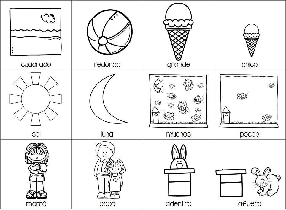 B1 Jpg 964 706 Opuestos Preescolar Figuras Geometricas Para Preescolar Ensenanza De Las Letras